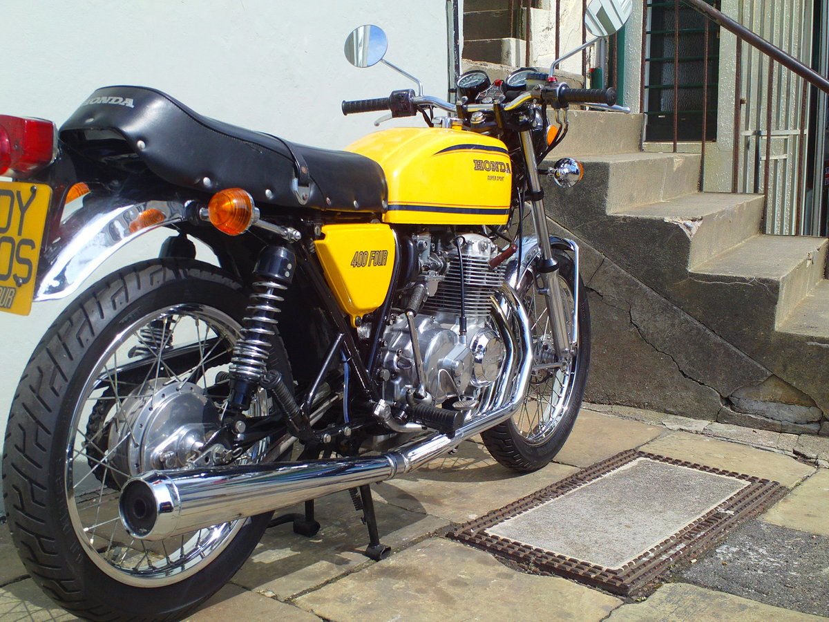 1977 HONDA 400/4 F2 SOLD (picture 2 of 6)