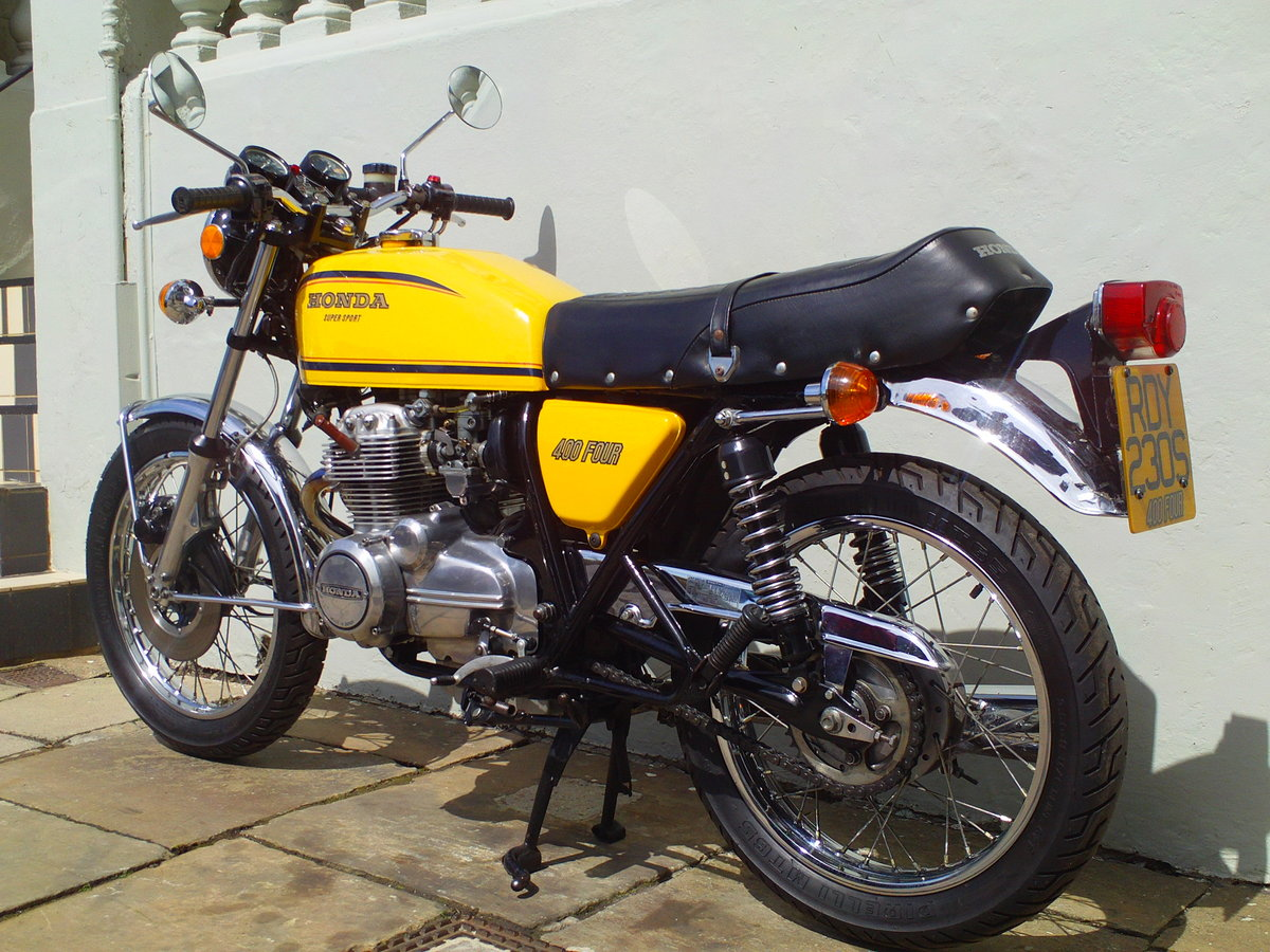 1977 HONDA 400/4 F2 SOLD (picture 4 of 6)