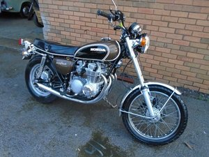 HONDA CB500 FOUR MOTORBIKE(1973)MET BROWN JUST 17K US IMPORT SOLD