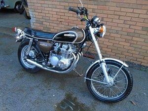 HONDA CB500 FOUR MOTORBIKE(1973)MET BROWN JUST 17K US IMPORT