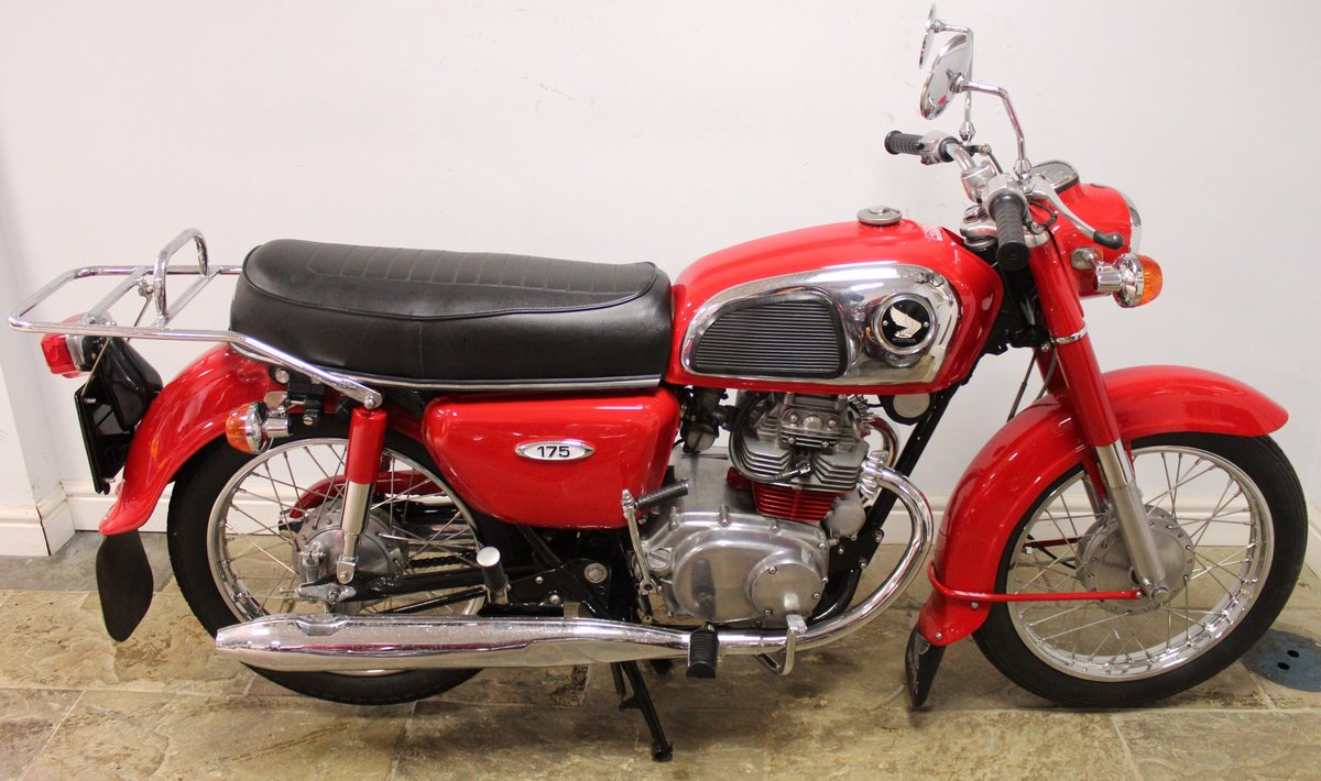 1972 Honda CD175 cc Twin With Electric Start Beautiful SOLD (picture 1 of 6)