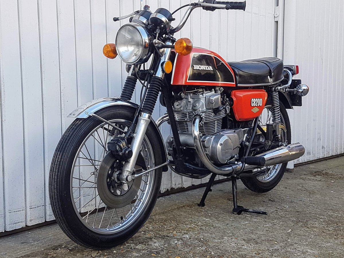 1975 Honda CB200 44 year old bike! Tested with Video  For Sale (picture 1 of 6)
