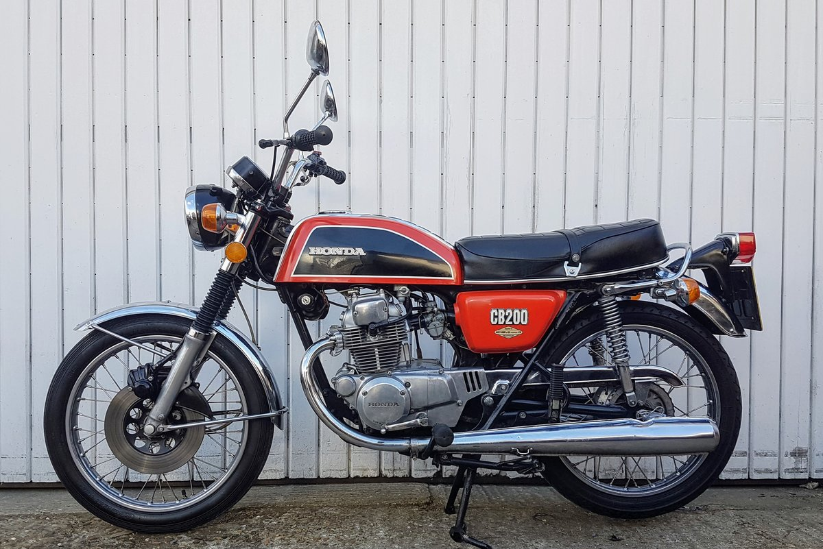 1975 Honda CB200 44 year old bike! Tested with Video  For Sale (picture 3 of 6)