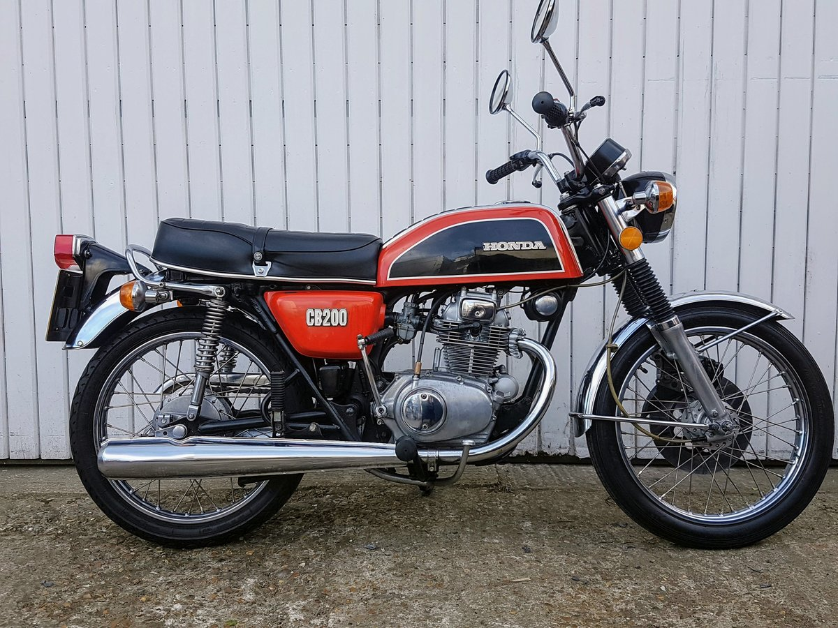 1975 Honda CB200 44 year old bike! Tested with Video  For Sale (picture 4 of 6)