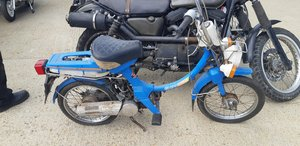 1980 Honda Express 50cc Classic twist and go 2 stroke moped