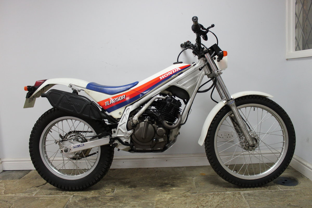 1985 Honda TLR 250 R Trials Bike  , Road registered with V5C For Sale (picture 1 of 6)