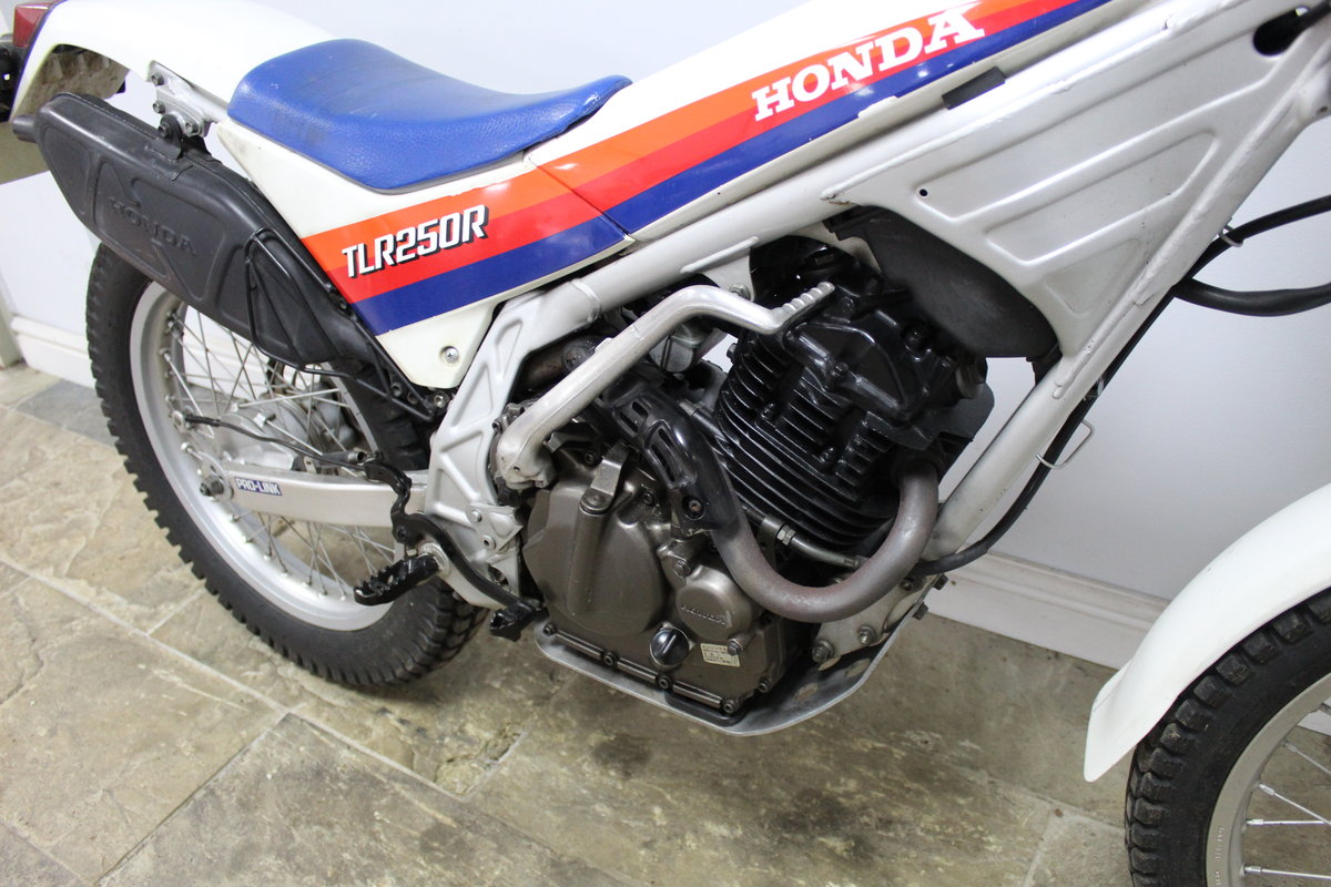 1985 Honda TLR 250 R Trials Bike  , Road registered with V5C For Sale (picture 2 of 6)