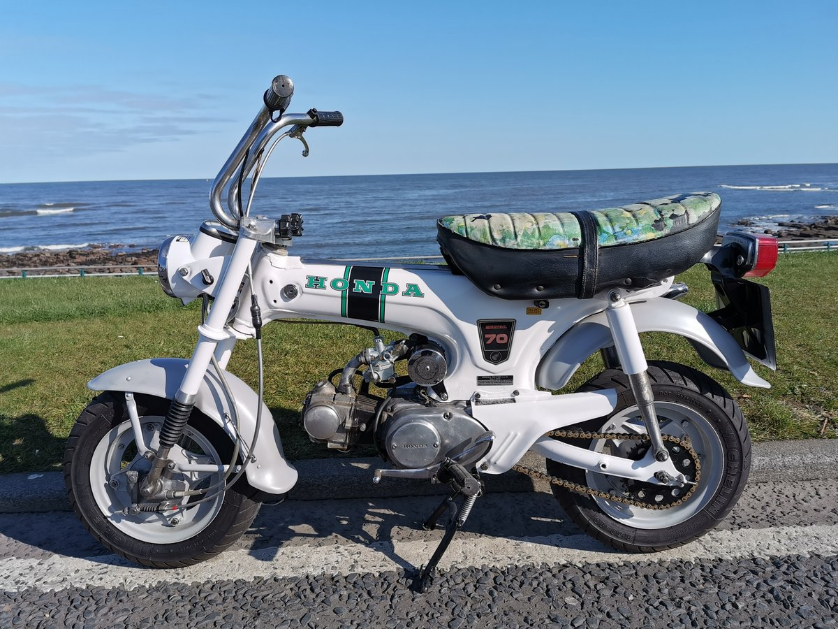 1972 Honda ST 70 lady dax monkeybike SOLD (picture 1 of 6)