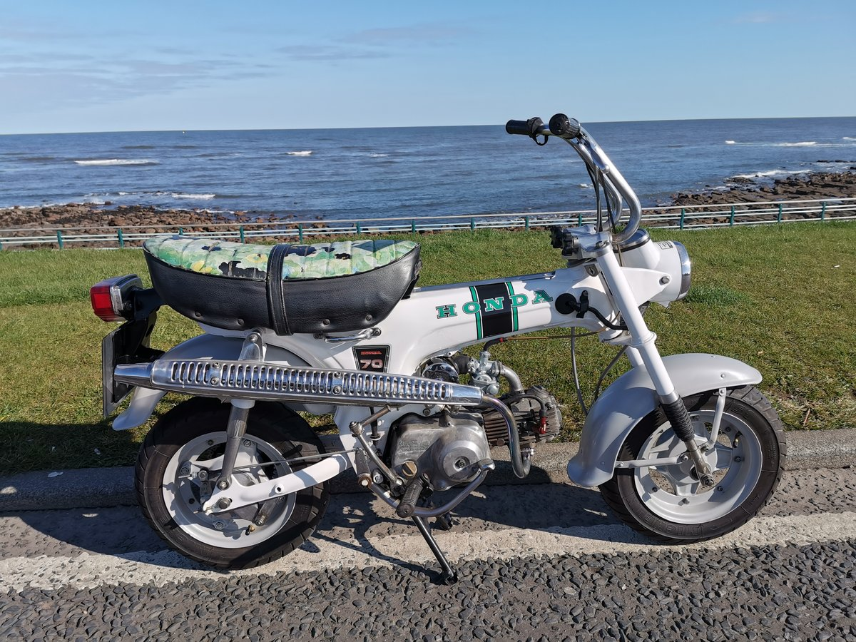 1972 Honda ST 70 lady dax monkeybike SOLD (picture 2 of 6)