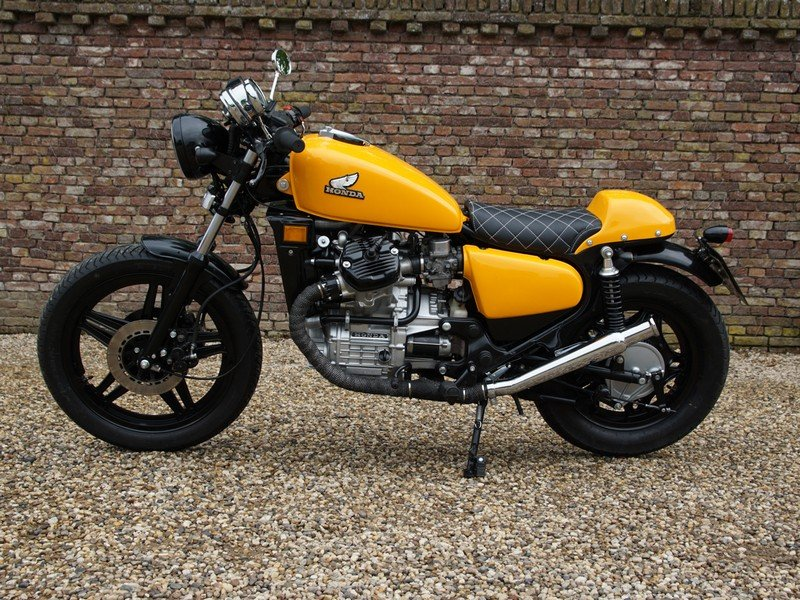 1984 Honda CX 500 Caferacer 3 owners from new, original Dutch del For Sale (picture 1 of 6)