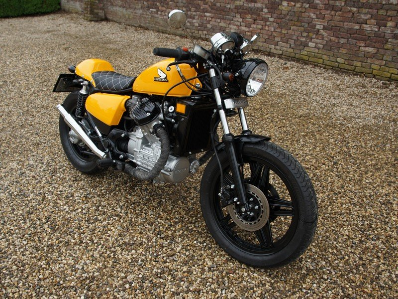 1984 Honda CX 500 Caferacer 3 owners from new, original Dutch del For Sale (picture 3 of 6)