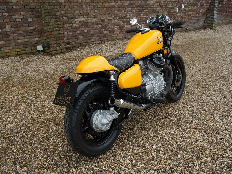 1984 Honda CX 500 Caferacer 3 owners from new, original Dutch del For Sale (picture 4 of 6)