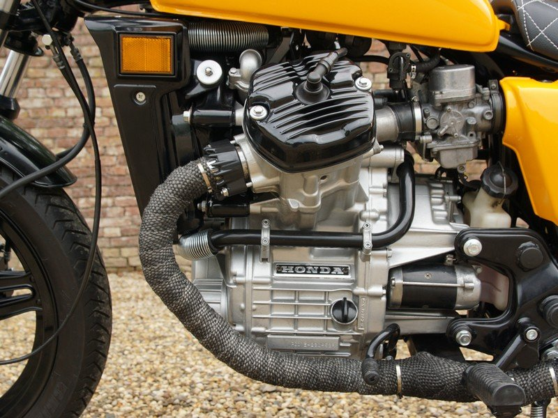 1984 Honda CX 500 Caferacer 3 owners from new, original Dutch del For Sale (picture 2 of 6)