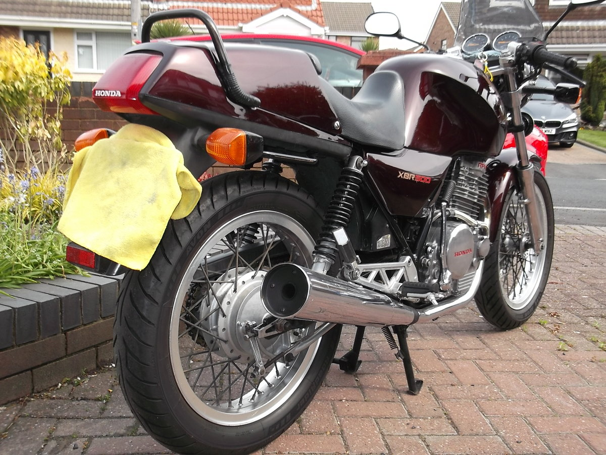 1989 Honda XBR 500 For Sale (picture 3 of 6)