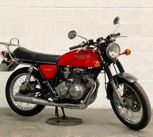 1976 Honda 400/4  Red