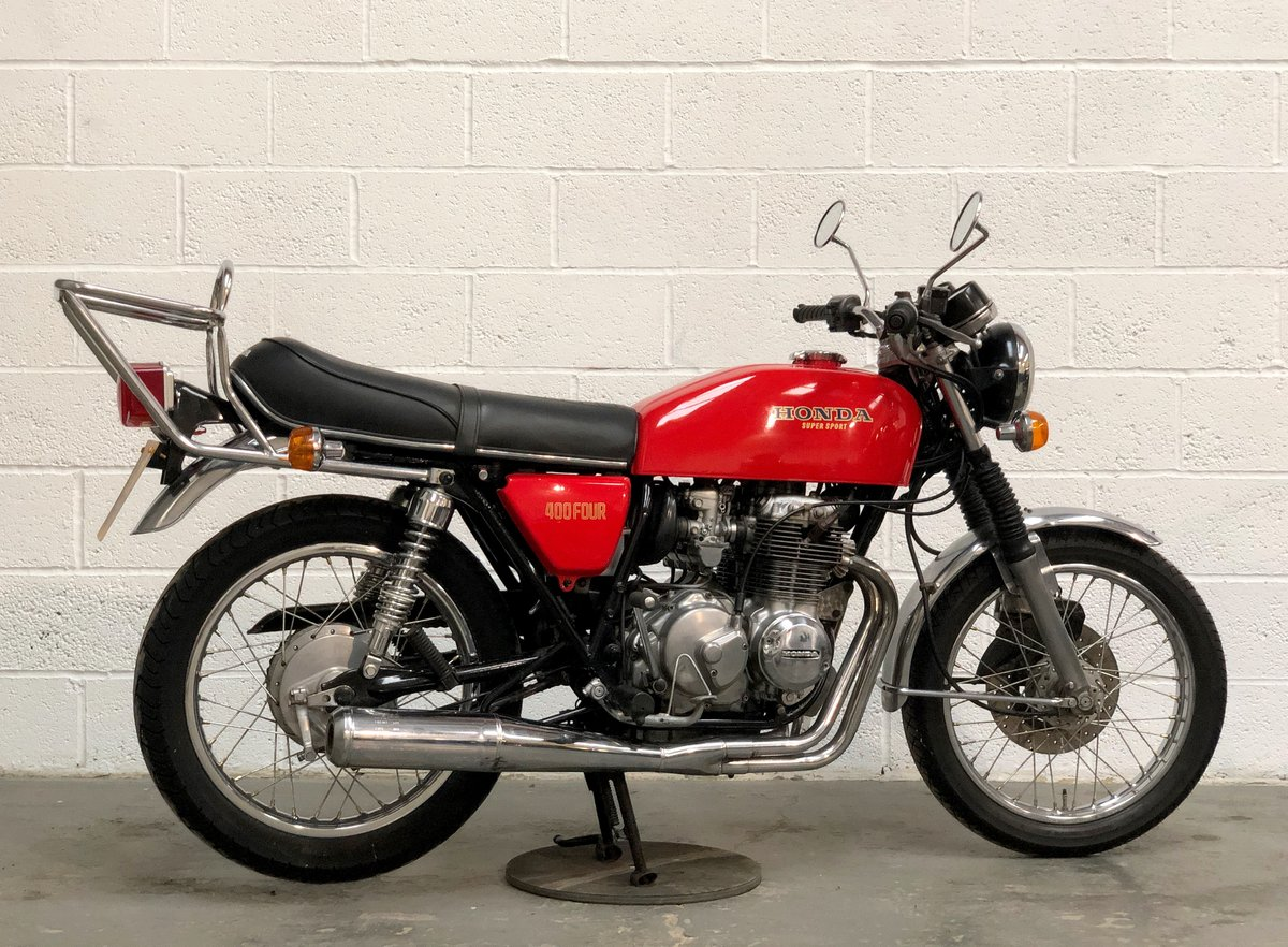 Honda 400/4 1976 Red  For Sale (picture 5 of 6)
