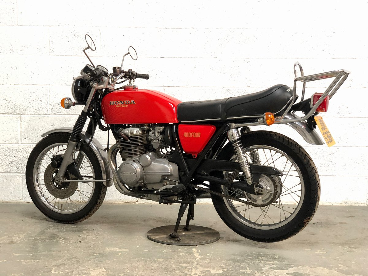 Honda 400/4 1976 Red  For Sale (picture 6 of 6)