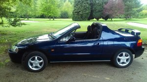 1996 Genuine UK Honda CRX 2seater fun convertible. For Sale