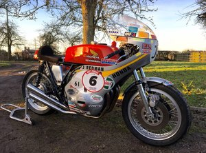 MBE Jim Redman's Racing 1972 Honda CR750 For Sale