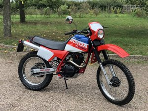 1985 Paris Dakar Honda XL200R Restored !!