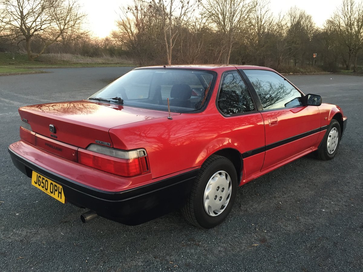 1991 Honda Prelude 2.0 EX automatic For Sale (picture 1 of 6)