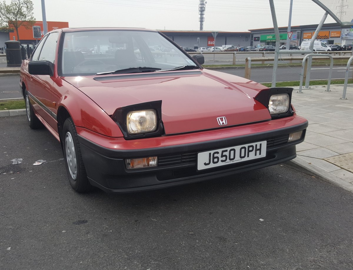 1991 Honda Prelude 2.0 EX automatic For Sale (picture 2 of 6)