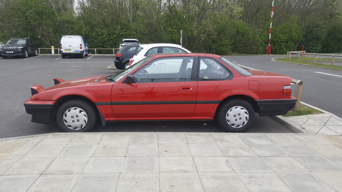 1991 Honda Prelude 2.0 EX automatic For Sale (picture 4 of 6)