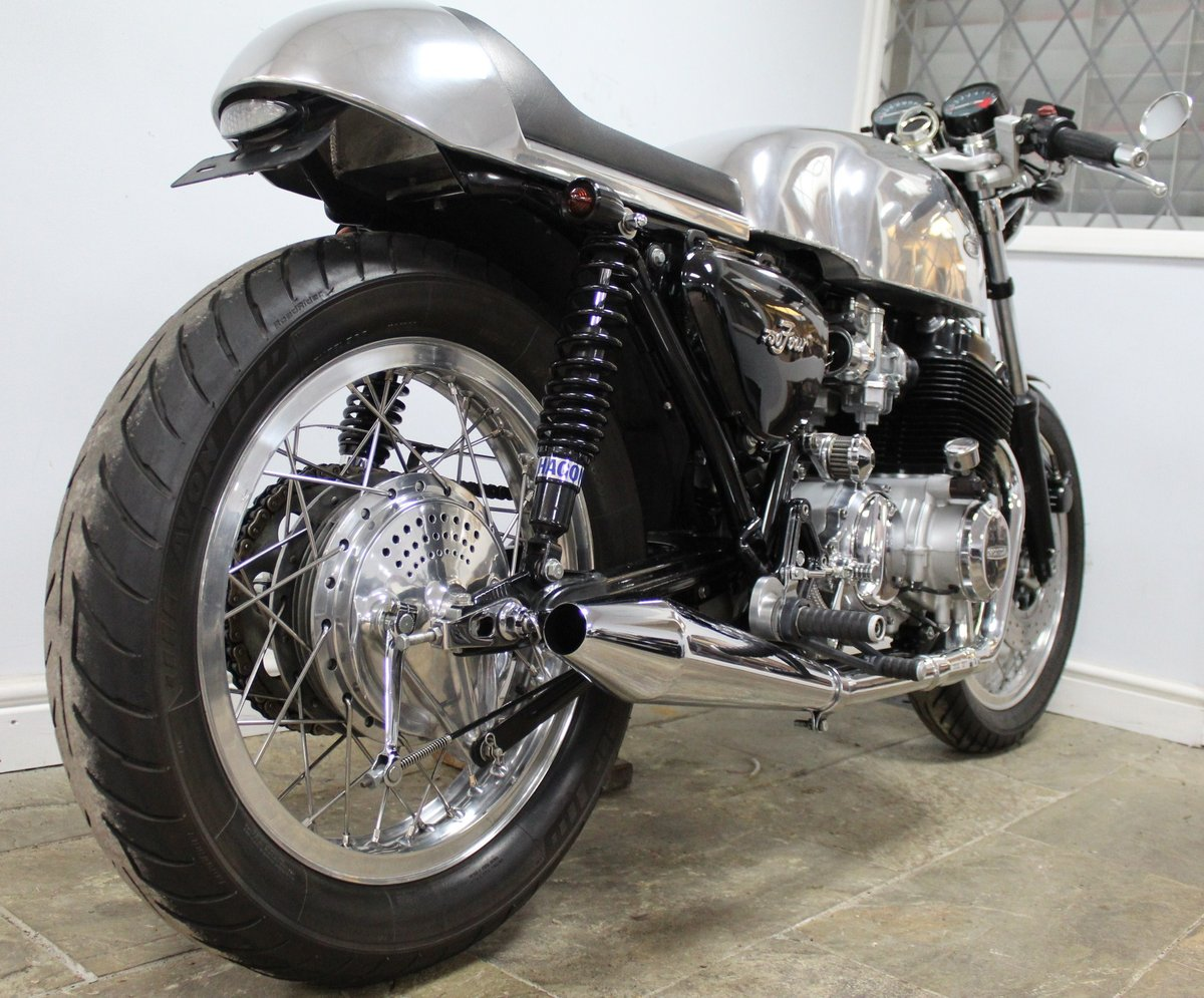 1976 Honda 750 TT Cafe Racer A One Of Commission Build Special  SOLD (picture 2 of 6)