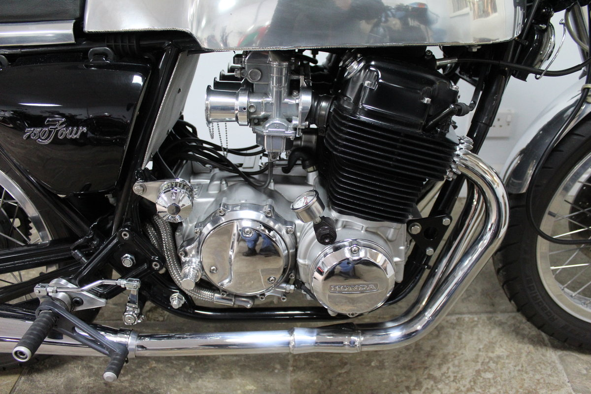 1976 Honda 750 TT Cafe Racer A One Of Commission Build Special  SOLD (picture 3 of 6)