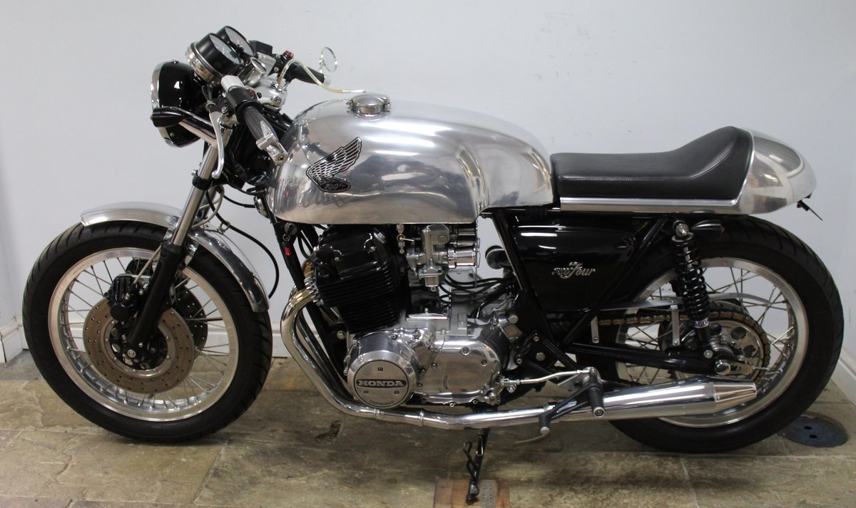 1976 Honda 750 TT Cafe Racer A One Of Commission Build Special  SOLD (picture 4 of 6)