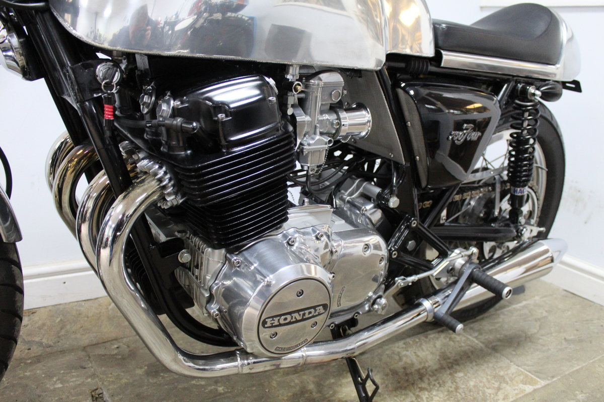 1976 Honda 750 TT Cafe Racer A One Of Commission Build Special  SOLD (picture 5 of 6)