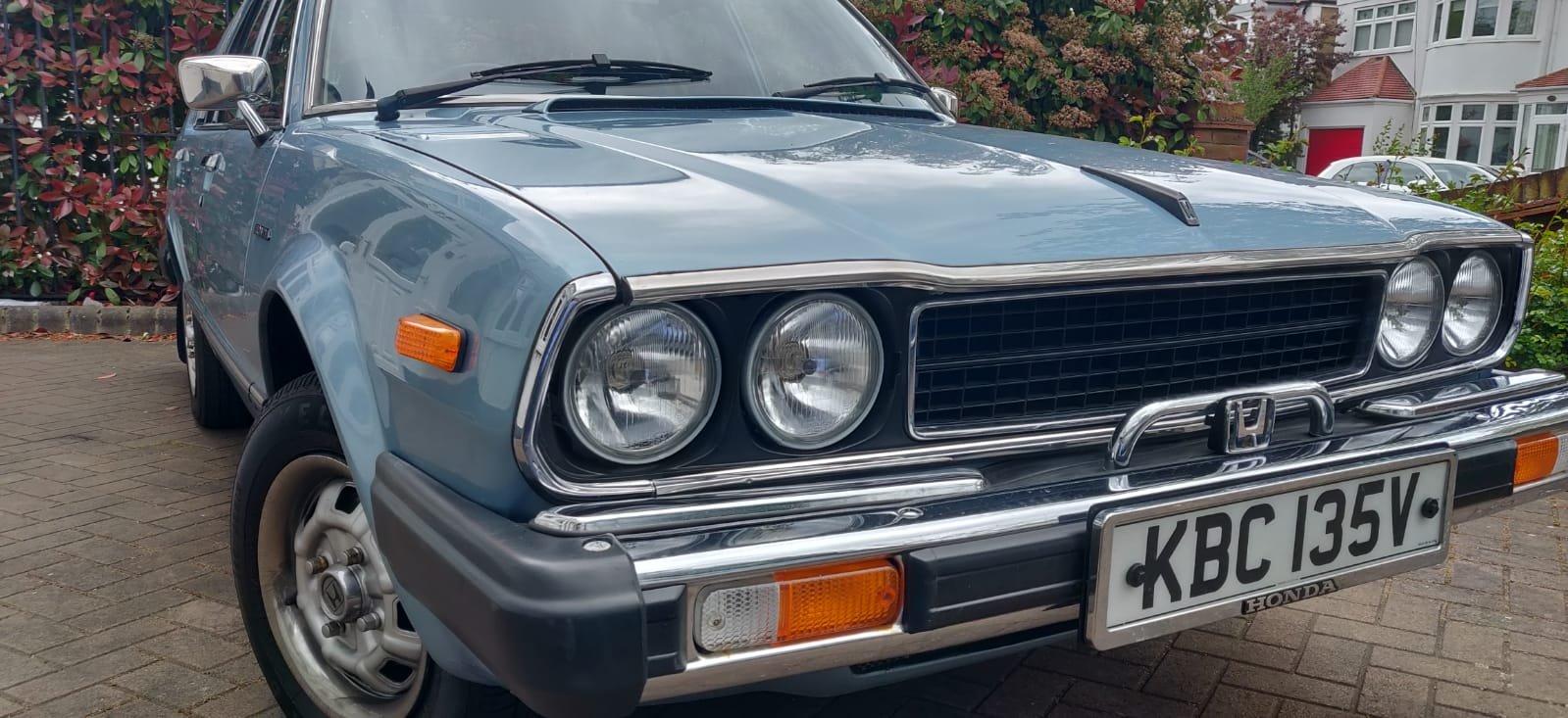 1980 honda accord 4 door auto For Sale (picture 1 of 6)