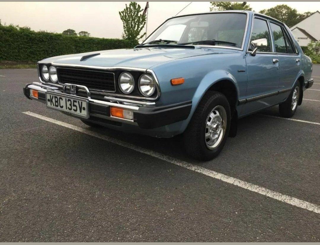 1980 honda accord 4 door auto For Sale (picture 2 of 6)
