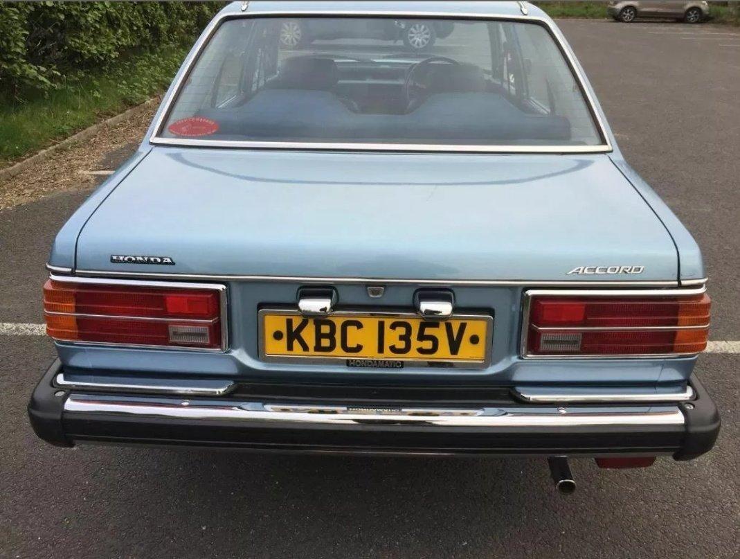 1980 honda accord 4 door auto For Sale (picture 3 of 6)