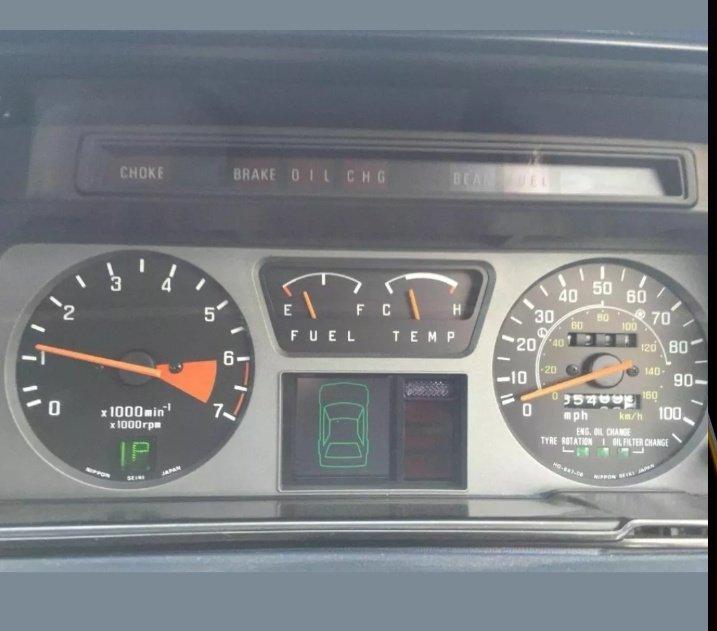 1980 honda accord 4 door auto For Sale (picture 5 of 6)