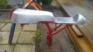Honda style tank and seat For Sale