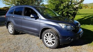 2007 07 Honda CRV 2.2i CTDi EX Diesel Man Sat Nav Leather 91k FSH For Sale