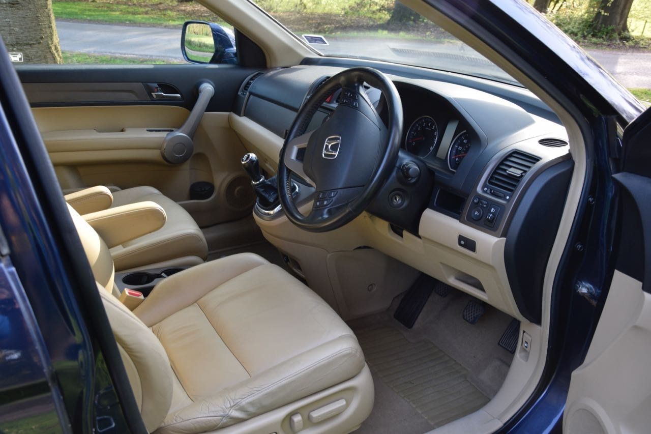 2007 Honda CR-V 2.0 VTEC EX Petrol, Cream Leather For Sale (picture 2 of 6)