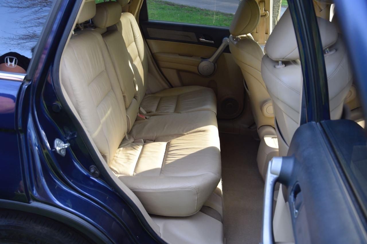 2007 Honda CR-V 2.0 VTEC EX Petrol, Cream Leather For Sale (picture 3 of 6)