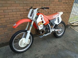 HONDA CR500 R MOTO X EVO SCRAMBLER(1991) ORIGINAL!VERY RARE! SOLD