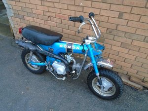 HONDA CT70 TRAIL MONKEY BIKE (1971)METALLIC BLUE! NICE BIKE! SOLD