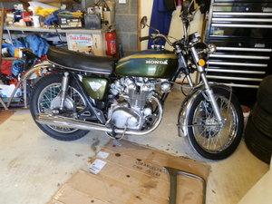 Honda cb450 k5 1971
