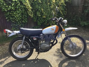HONDA XL350 1974 low mileage