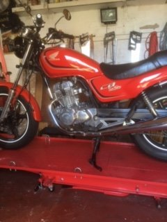 1994 Honda CB250 Nighthawk For Sale (picture 1 of 6)