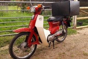 2001 Honda C90 Cub 90.  Step-Thru bike. New MOT. For Sale