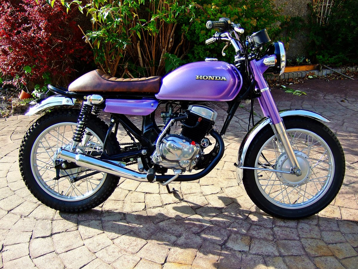 1981 Honda CD 200 Cafe/street racer style For Sale (picture 1 of 4)