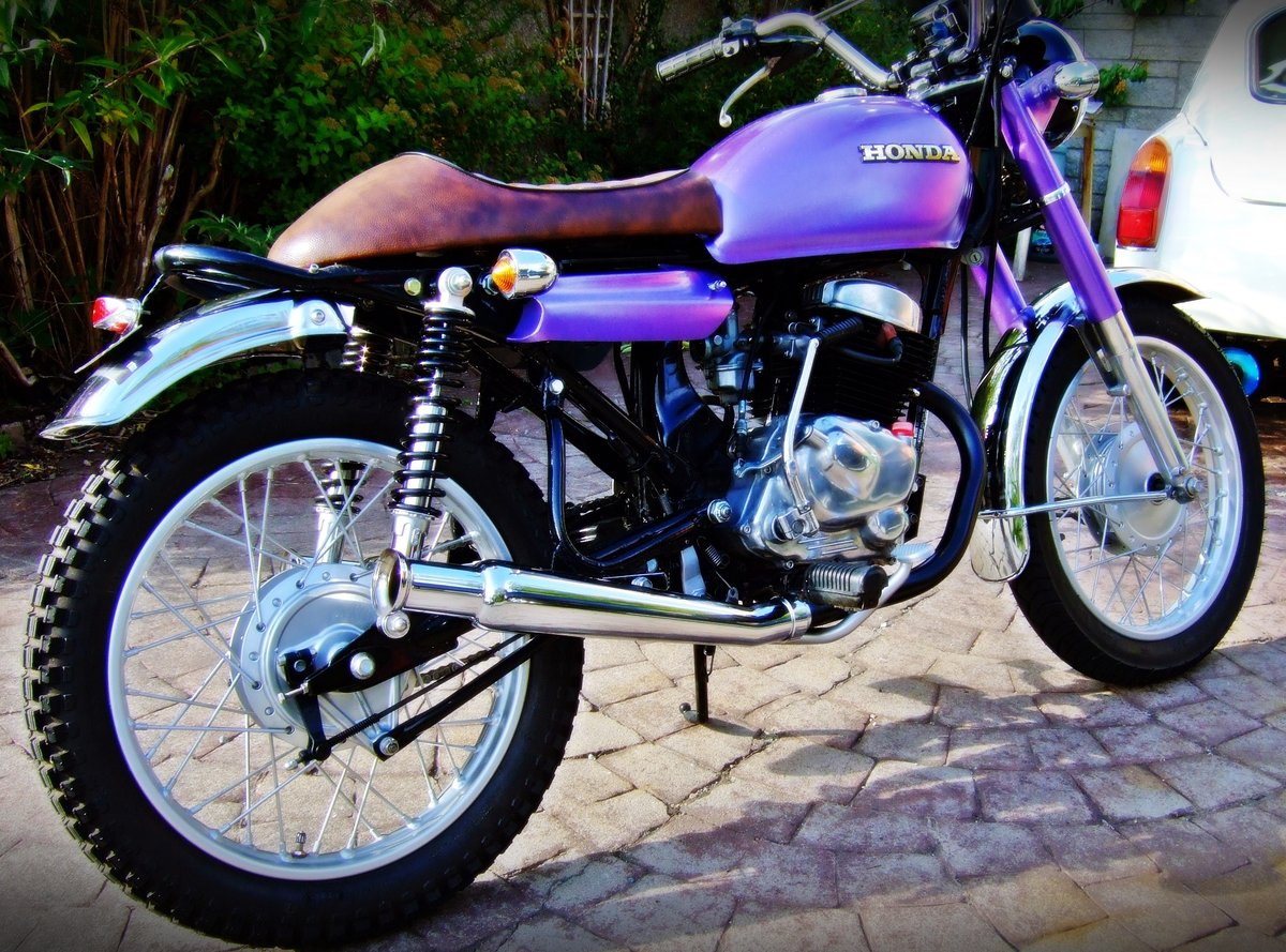1981 Honda CD 200 Cafe/street racer style For Sale (picture 2 of 4)