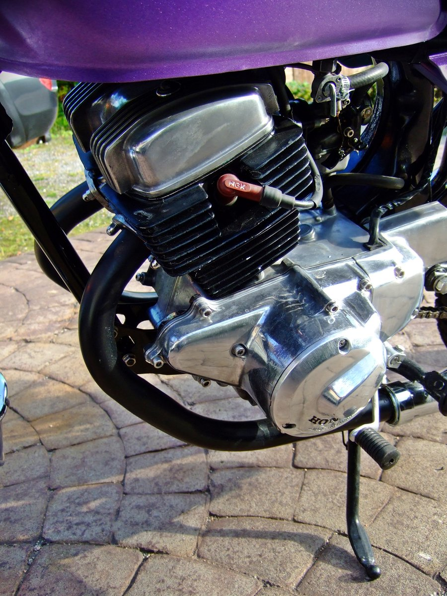 1981 Honda CD 200 Cafe/street racer style For Sale (picture 3 of 4)