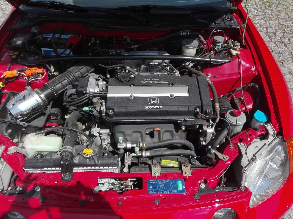 1994 Unique Honda Civic CRX VTi VTEV 160hp Original100% For Sale (picture 2 of 6)