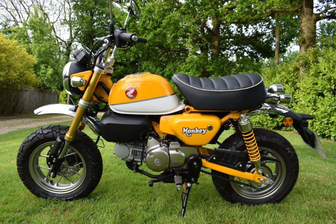 2018 Honda Z125cc Monkey Bike - Delivery Miles SOLD (picture 2 of 6)